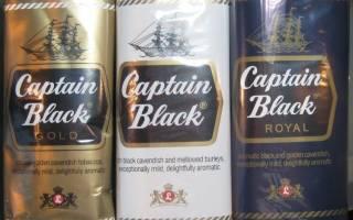 Капитан блэк с шоколадом