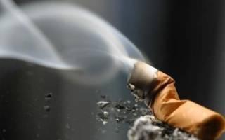 За сколько выветривается сигаретный дым