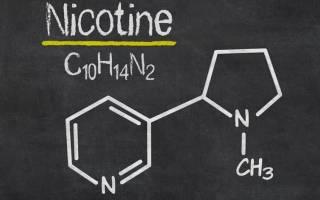 Никотин табачного дыма вызывает