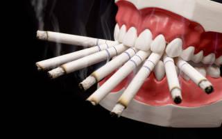 Сколько не курить после удаления зуба
