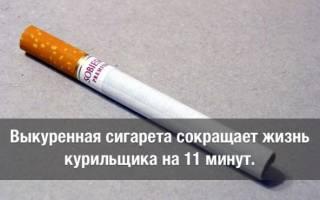 Что происходит с организмом после выкуренной сигареты