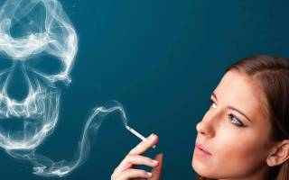 Сухость во рту от курения