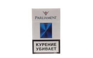 Сигареты парламент сильвер блю