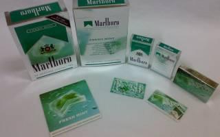 Сигареты со вкусом мяты