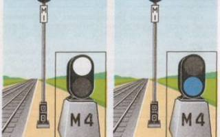Какие сигналы подаются горочными светофорами