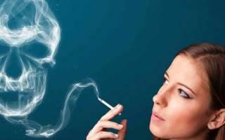 Какой кашель от курения