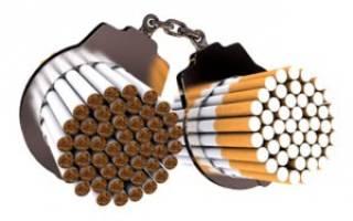 Какая зависимость от сигарет