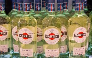 Как пьют мартини бьянко и с чем