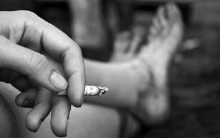 Бросил курить стали болеть ноги