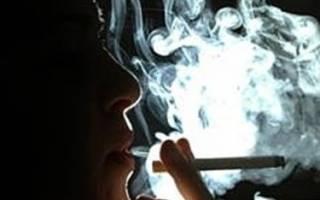 Много сигарет во рту