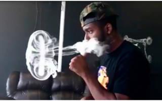 Как выпускать густой дым кальян