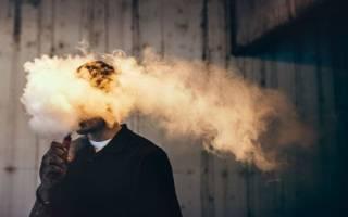 Дым от электронной сигареты для окружающих