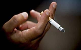 Курение при геморрое у мужчин