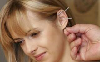 Иголка в ухо от курения