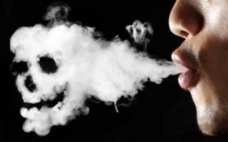 Заболевание легких от курения