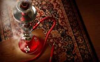 Курение кальяна в квартире