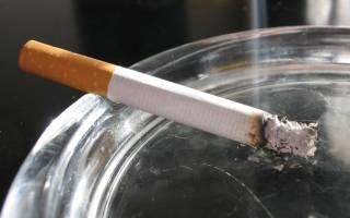 Угарный газ в сигаретах