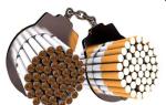 Симптомы зависимости от сигарет