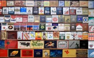 Все марки сигарет с картинками