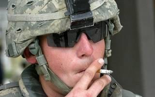 Прыщи от курения на лице: правда или нет (фото)
