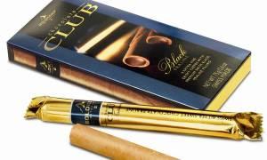 Сигары с шоколадным вкусом