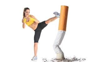 Курение при занятии спортом