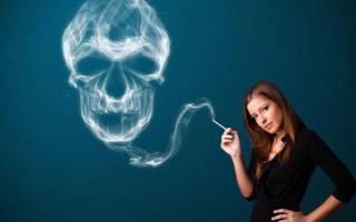 Как курение влияет на женский организм