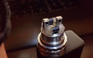 Почему горит испаритель в электронной сигарете