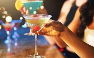 В чем пьют мартини