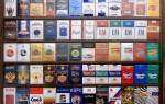 Список сигарет по крепости