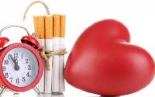 Влияние курения на ссс