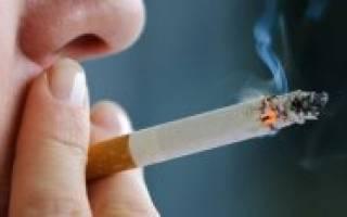 Как курение влияет на тромбоциты