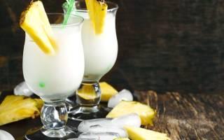 Коктейль с кокосовым молоком алкогольный