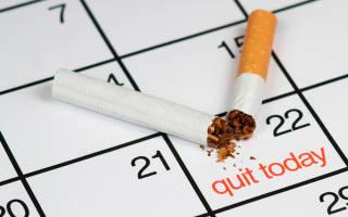 Когда проходит тяга к курению после отказа