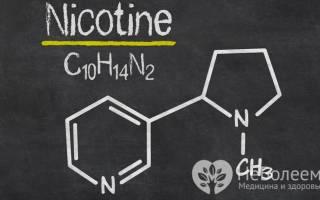 Никотин эффект на организм