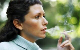 Как курение влияет на зачатие ребенка