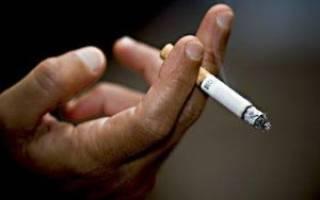 Какие симптомы при курении