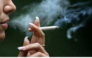 Что происходит с легкими когда куришь