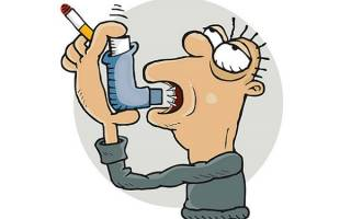 Курение при бронхиальной астме