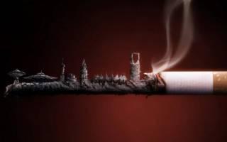 Последствия курения сигарет видео