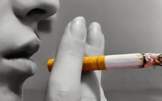 Икота во время курения
