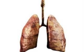 Какими становятся легкие у курящего человека цвет