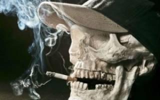 Выкурил сигарету стало плохо