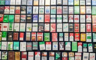 Популярные марки сигарет в россии