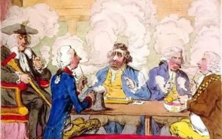Когда в россии появился табак