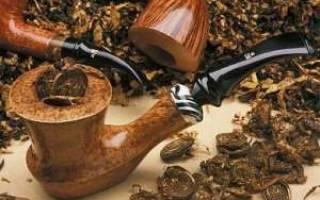 Как забить трубку для курения табака
