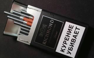 Сколько никотина в ричмонде