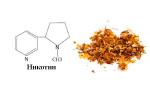 Влияние никотина на цнс