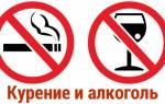 Влияние курения употребления алкоголя